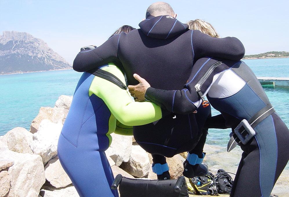 skin diving snorkeling